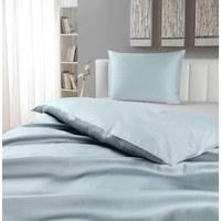 BETTWÄSCHE 140/200 cm - Hellblau, KONVENTIONELL, Textil (140/200cm) - NOVEL