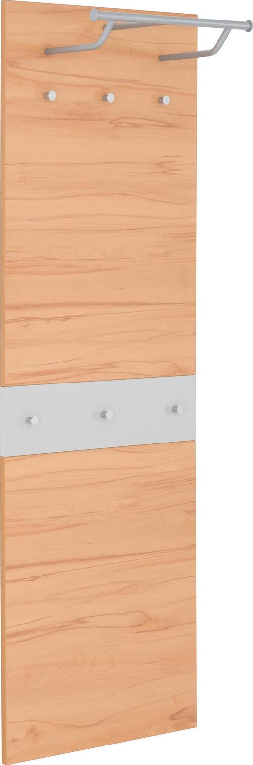 GARDEROBENPANEEL matt Buchefarben, Grau - Buchefarben/Grau, Design (59/180/30cm) - CASSANDO