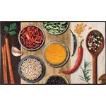 FUßMATTE 75/120 cm Graphik Multicolor, Naturfarben  - Multicolor/Naturfarben, Basics, Kunststoff/Textil (75/120cm) - Esposa