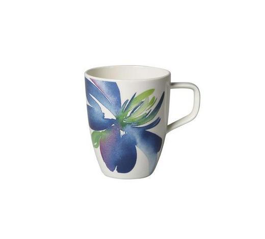 KAFFEEBECHER 380 ml - Blau/Weiß, LIFESTYLE, Keramik (0,38l) - Villeroy & Boch