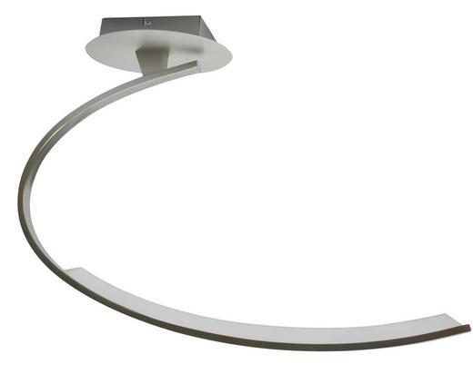 LED-DECKENLEUCHTE - Nickelfarben, Design, Metall (65,5/44,5/14cm)