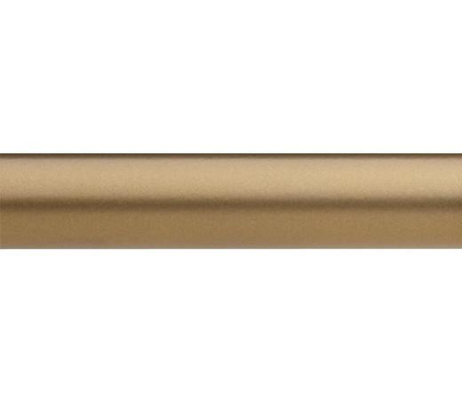 TYČ KULATÁ, 160 cm - barvy zlata, Basics, kov (160cm) - Homeware
