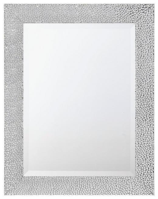 SPIEGEL Silberfarben - Silberfarben, LIFESTYLE, Glas/Kunststoff (55/70/2cm) - Carryhome