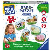 Badepuzzle Bauernhof - Basics (19,0/19,0/4,8cm) - Ravensburger