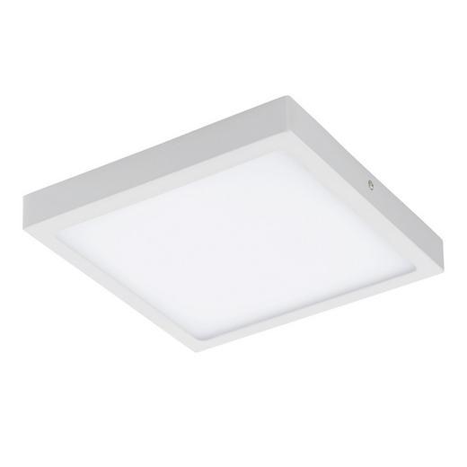 AUFBAULEUCHTE - Weiß, Design, Metall (30/30cm)