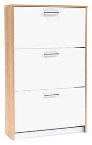 CIPELARNIK - Boje hroma/Bela, Dizajnerski, Plastika/Pločasti materijal (75/124/25cm) - Xora