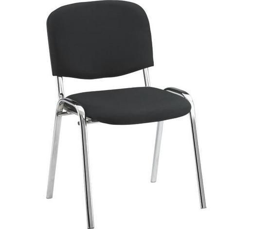 ŽIDLE, černá, drilich - černá, Konvenční, kov/textil (53/82/60cm) - Boxxx