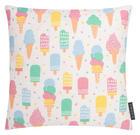 KISSENHÜLLE Multicolor 40/40 cm - Multicolor, Textil (40/40cm)