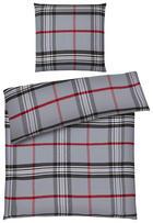 BETTWÄSCHE Flanell Grau 135/200 cm - Grau, Design, Textil (135/200cm) - Esposa