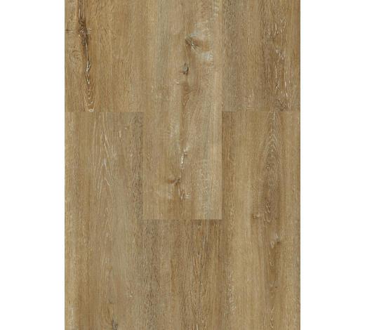 DESIGNBODEN per  m² - Eichefarben/Braun, KONVENTIONELL, Holzwerkstoff (123,5/23/0,87cm) - Venda