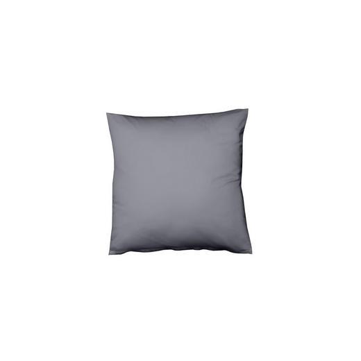 KISSENHÜLLE Graphitfarben 40/40 cm - Graphitfarben, Basics, Textil (40/40cm) - Fleuresse
