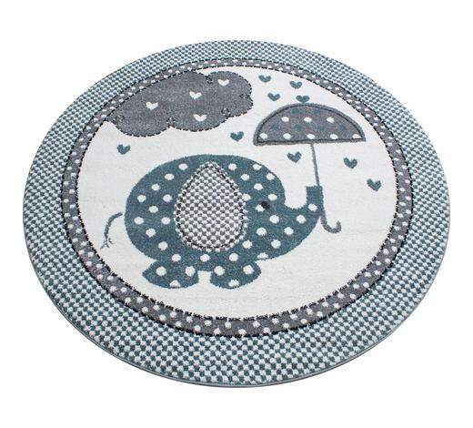 KINDERTEPPICH - Blau, Trend, Textil (120cm) - Ben'n'jen