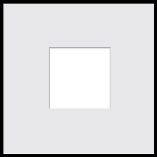 BILDERRAHMEN in Schwarz - Schwarz, Basics, Glas/Kunststoff (31/31/1.8cm)