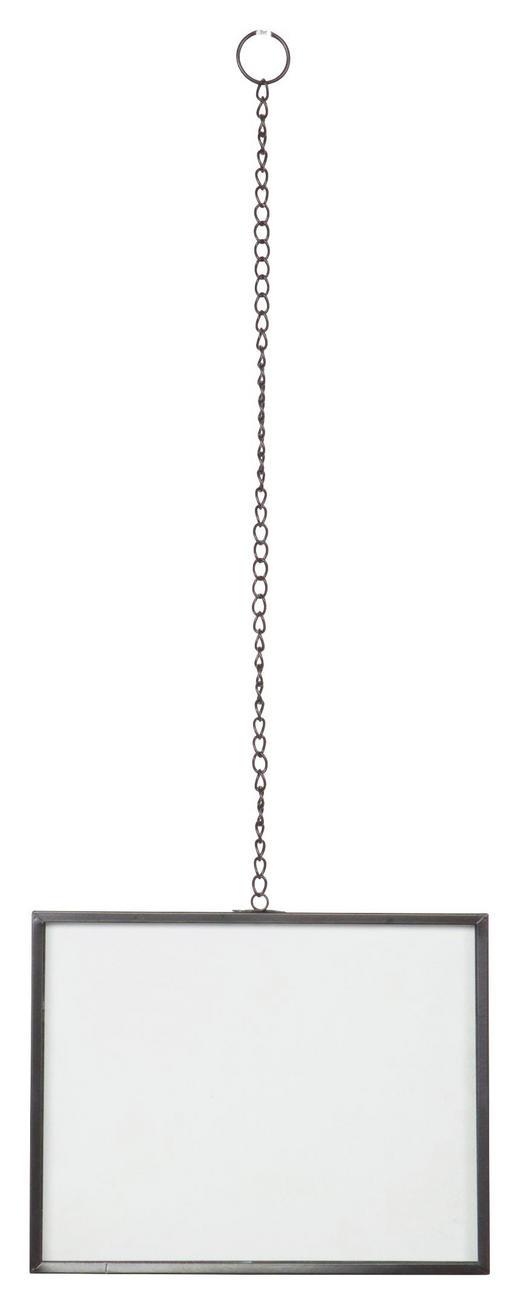 BILDERRAHMEN  Schwarz - Schwarz, Design, Glas/Metall (18/23/1cm) - Carryhome