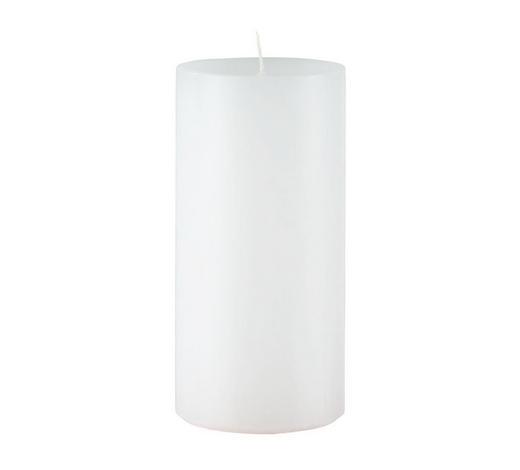STUMPENKERZE 5,8/12 cm  - Weiß, Basics (5,8/12cm) - Steinhart
