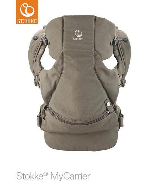 MyCarrier 3 in 1 - Braun, Basics, Weitere Naturmaterialien (40/35/10cm) - Stokke