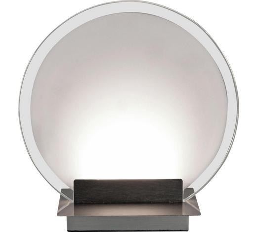 TISCHLEUCHTE - Nickelfarben, Design, Kunststoff/Metall (22/10/23cm) - Novel
