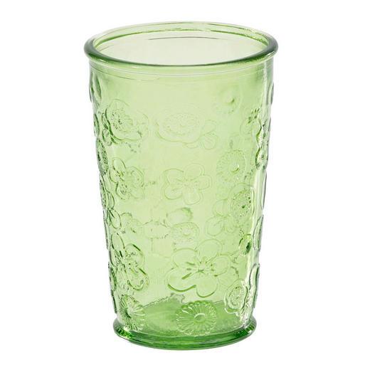 TRINKGLAS - Grün, Basics, Glas (8/13cm) - Homeware