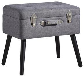 PALL - svart/grå, Trend, trä/träbaserade material (50/46/35cm) - Xora