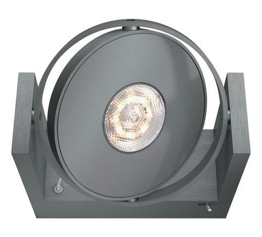 MYLIVING LED-WANDLEUCHTE   - Alufarben, Design, Metall (15/11,5/12,5cm) - Philips