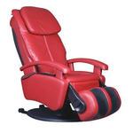 MASSAGESESSEL in Textil, Leder Rot  - Rot/Schwarz, Design, Leder/Kunststoff (72/128/175cm) - Cantus