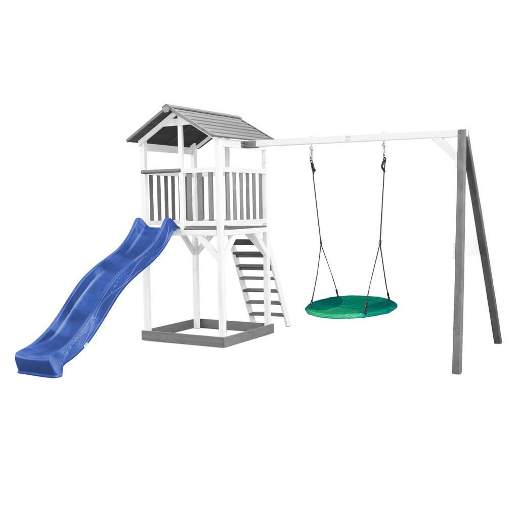 Spielhaus Beach Tower Climbeing & Nest Swing