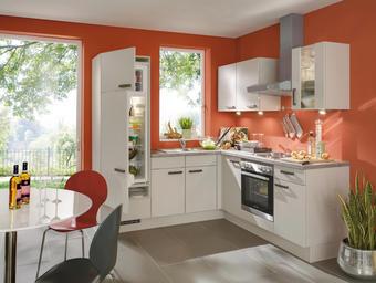 KUCHYŇSKÝ BLOK - barvy pinie/pískové barvy, Konvenční, kompozitní dřevo (210/215cm) - Celina