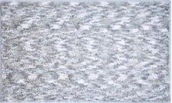 BADTEPPICH  Silberfarben, Hellgrau  70/120 cm     - Silberfarben/Hellgrau, KONVENTIONELL, Kunststoff/Textil (70/120cm) - Esposa