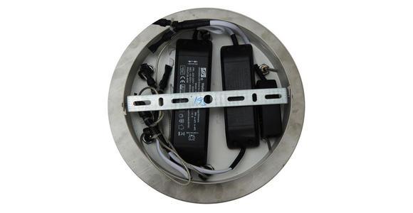 LED-HÄNGELEUCHTE 45/120 cm  - Klar, Design, Kunststoff/Metall (45/120cm) - Ambiente