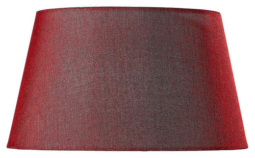 LEUCHTENSCHIRM  Rot  Textil  E27 - Rot, Design, Textil (40/22cm) - Marama