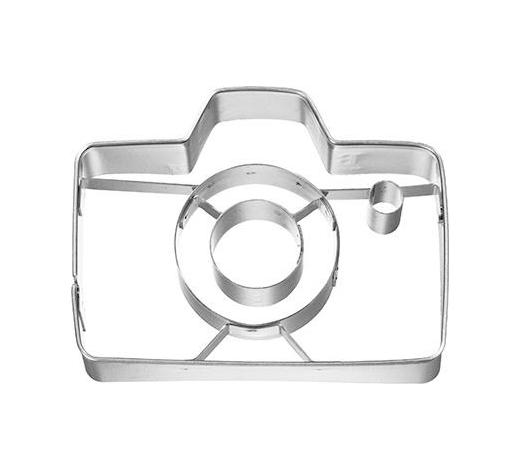 KEKSAUSSTECHFORM - Edelstahlfarben, Basics, Metall (7/2,5/5,25cm)