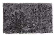 BADEMATTE  Grau  60/100 cm     - Grau, Design, Kunststoff/Textil (60/100cm) - Esposa