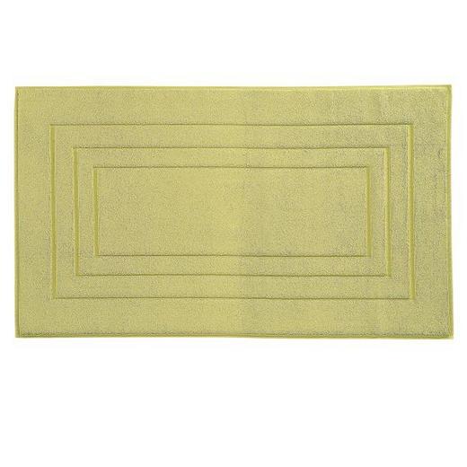 BADEMATTE  Hellgrün  60/100 cm - Hellgrün, Basics, Textil (60/100cm) - Vossen