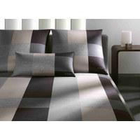 BETTWÄSCHE 140/200 cm - Schwarz/Grau, Design, Textil (140/200cm) - Joop!