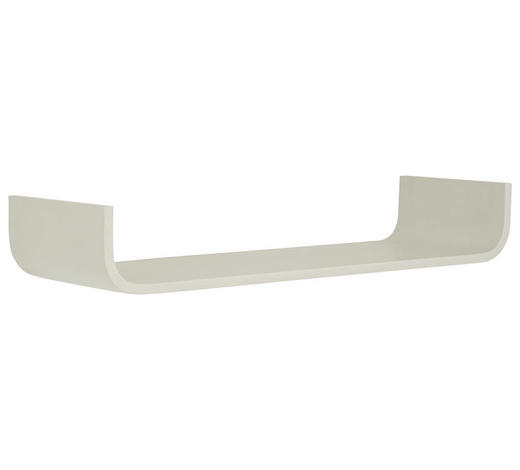 WANDBOARD Birke massiv Weiß  - Weiß, Design, Holz (80/12/25cm) - Carryhome