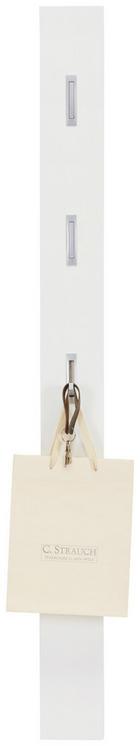 GARDEROBENPANEEL - Weiß, Design, Holzwerkstoff (15/170/4cm) - XORA