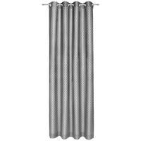 ÖSENVORHANG blickdicht - Grau, Design, Textil (140/250cm) - Joop!