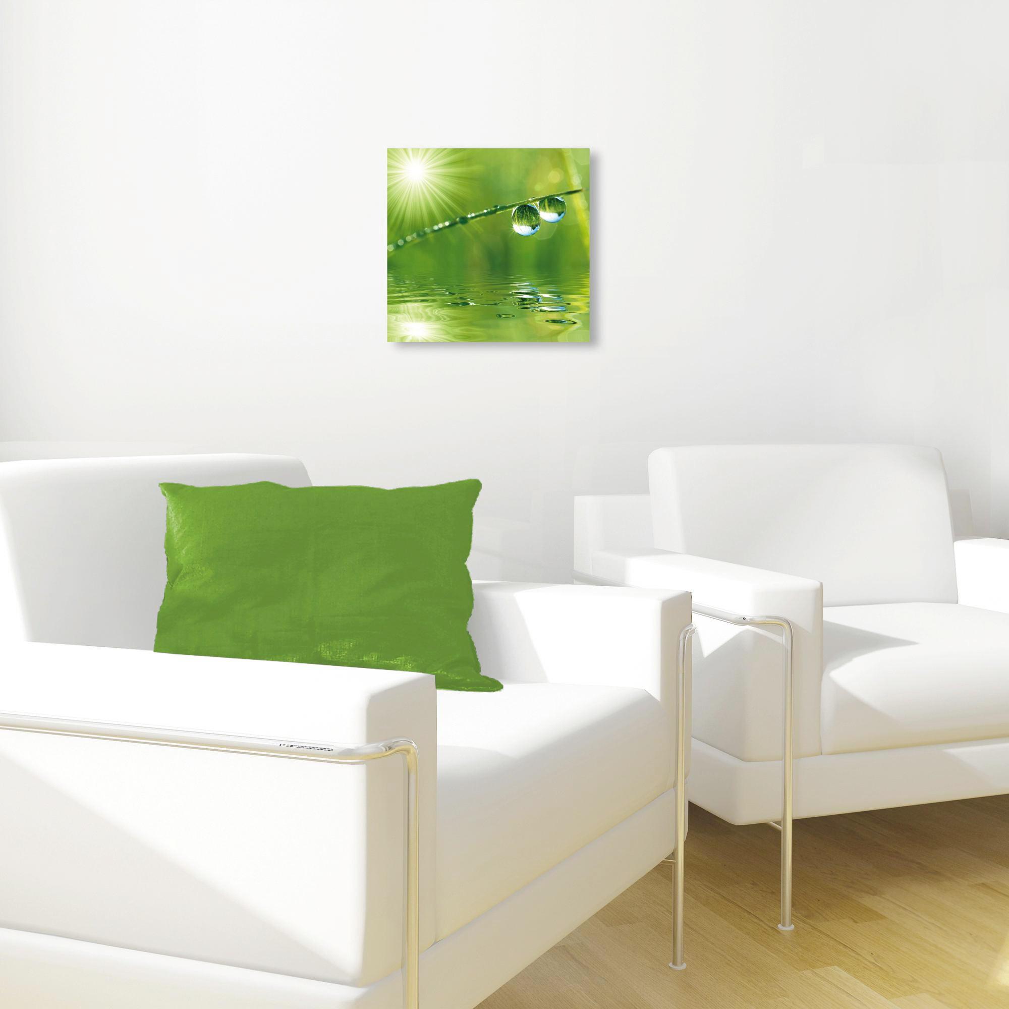 GLASTAVLA - multicolor, Basics, glas (30/30cm) - EUROGRAPHICS