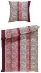BETTWÄSCHE Mikrofaser Beere 135/200 cm - Beere, KONVENTIONELL, Textil (135/200cm) - Boxxx