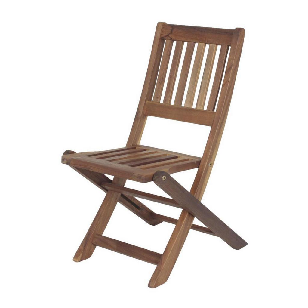 Kinder-Gartenstuhl aus Akazienholz
