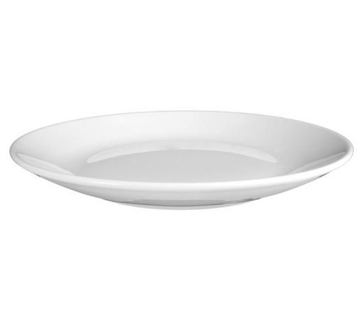 SPEISETELLER Keramik Porzellan  - Weiß, Basics, Keramik (29cm) - Seltmann Weiden