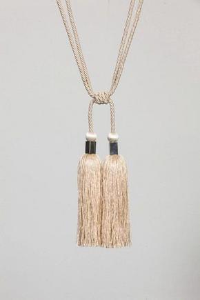 GARDINOMTAG - vit, Klassisk, textil (70cm)