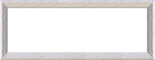 RÁM NA OBRAZOVÉ KOLÁŽE - bílá, Basics, dřevo (28/69/2.2cm)