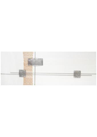 BILD - Silberfarben/Naturfarben, Design, Holz/Metall (155/55cm) - Monee