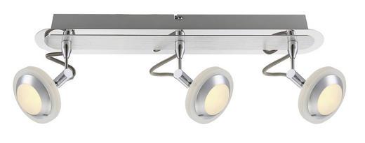 LED-STRAHLER - Chromfarben, Design, Kunststoff/Metall (46/16cm)