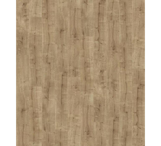 LAMINATBODEN Eichefarben, Hellbraun  per  m² - Hellbraun/Eichefarben, KONVENTIONELL, Holzwerkstoff (128,5/24,3/0,8cm) - Parador