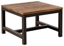 BEISTELLTISCH in Holz, Metall 60/60/40 cm  - Dunkelgrau/Braun, Trend, Holz/Metall (60/60/40cm) - Landscape