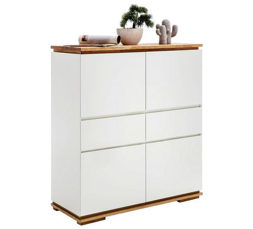 S3 Highboard eiche-weiß|