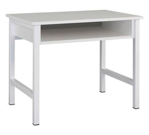 SCHMINKTISCH Weiß  - Weiß, Design (96/76/60cm) - Carryhome