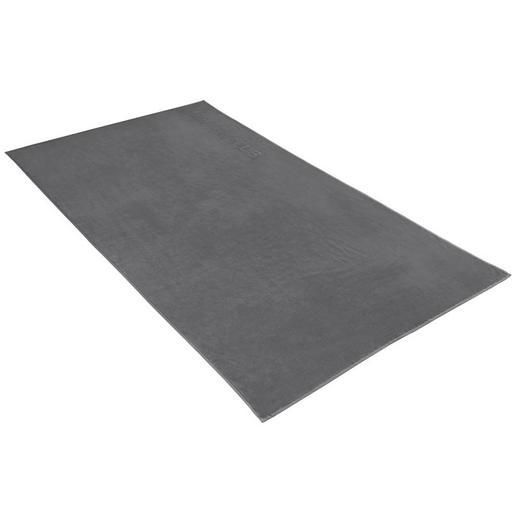 STRANDTUCH 100/180 cm - Grau, Basics, Textil (100/180cm) - Vossen